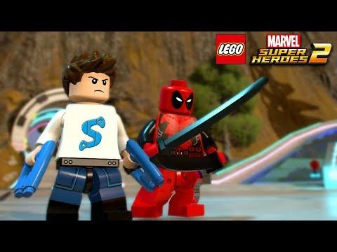 STIM et DEADPOOL dans LEGO Marvel Super Heroes 2 !