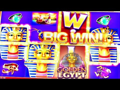 ✨ LETS GET THOSE WILDS GOLDEN EGYPT ✨ SLOT MACHINE MAX BET