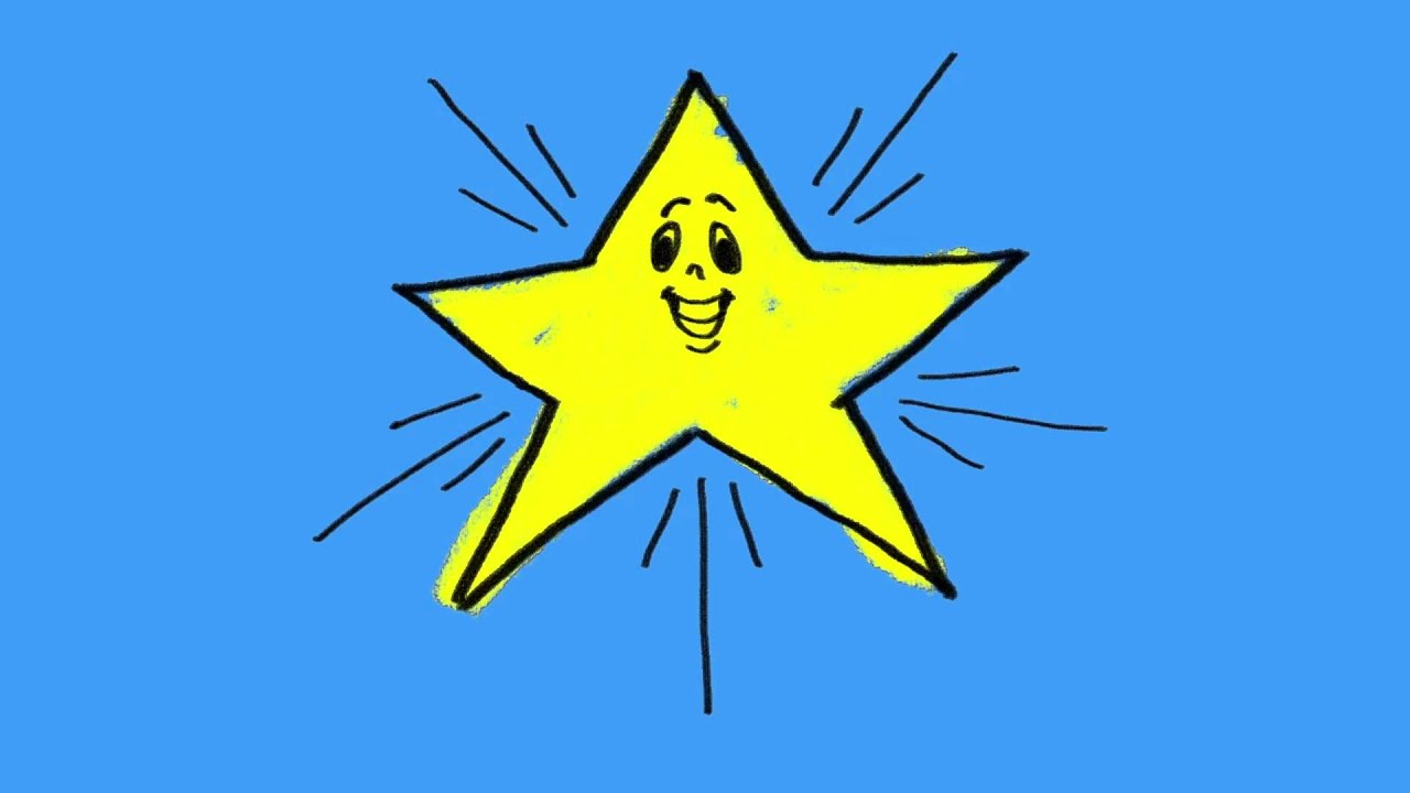11 Learn the easy way to draw a star for kids - YouTube