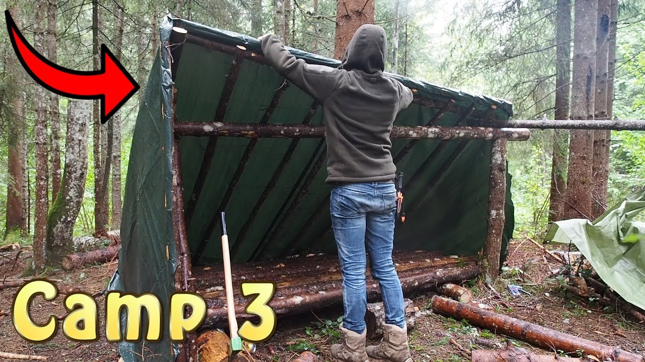 Bug Out Camp : Bug out camp complete rebuild youtube