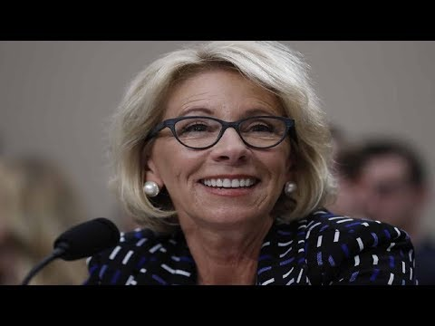 "Betsy DeVos guts school disability rules that once ""confused"" her"