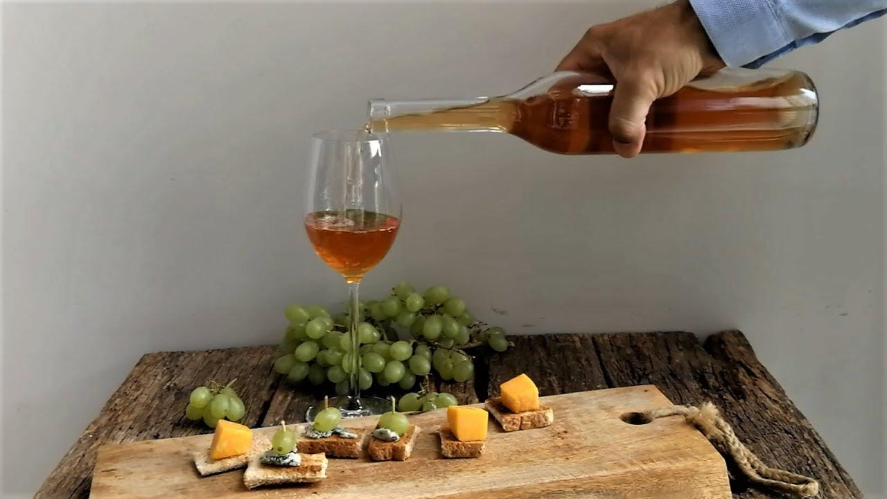 Homemade Italian PASSITO WINE - DESSERT
