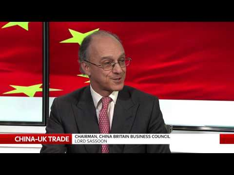 Lord Sassoon urges start to trade agreements with China ahead of Brexit