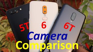 OnePlus 6T vs OnePlus 6 vs OnePlus 5T (5) Camera Test !