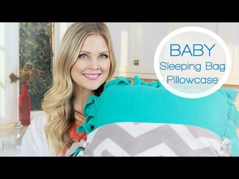 baby sleeping bag pillowcase youtube. Black Bedroom Furniture Sets. Home Design Ideas