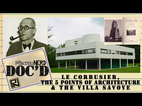 Le Corbusier's 5 Points & Villa Savoye - Doc'D #21