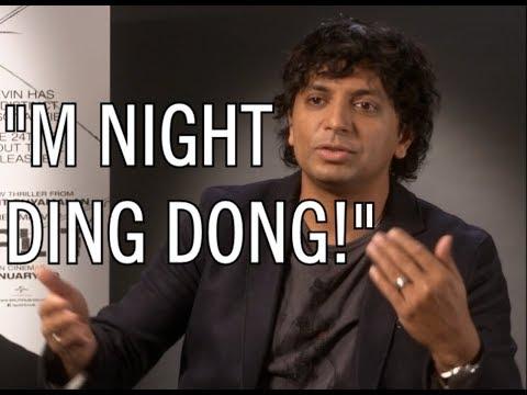 M. Night Shyamalan on people making fun of his name (Ding Dong!)