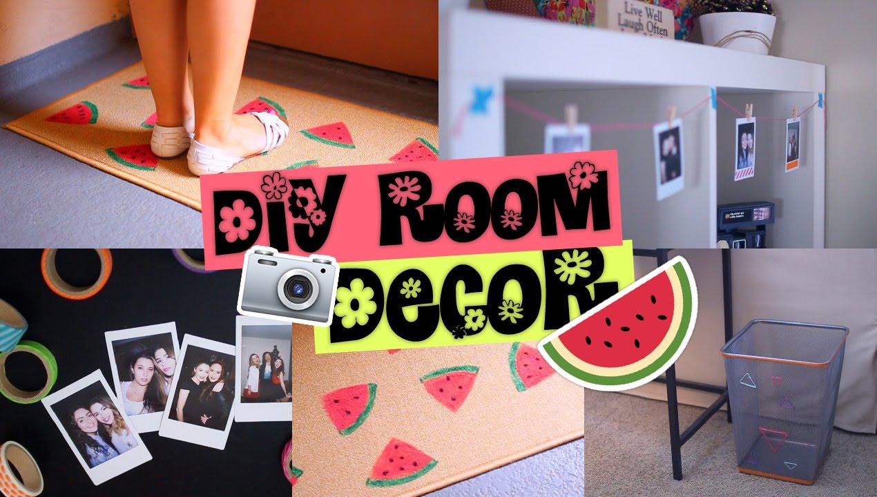 Diy summer room decor easy affordable tumblr inspired for 5 diy summer room decor ideas