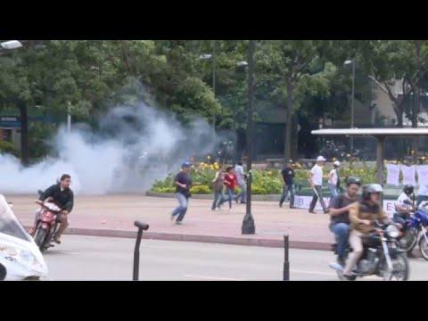 Violence erupts in Venezuela vote