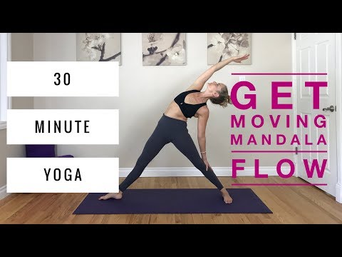 Vinyasa Yoga - 30 Minute Mandala Flow, for Core, Hips & Cardio