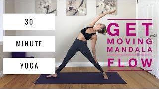 Video Vinyasa Yoga - 30 Minute Mandala Flow, for Core, Hips & Cardio download MP3, 3GP, MP4, WEBM, AVI, FLV Maret 2018