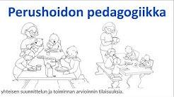 Perhepäivähoidon pedagogiikka -johdantoluento