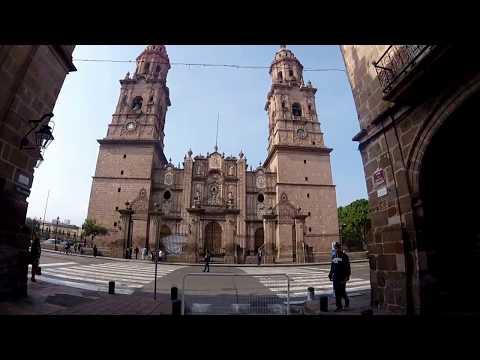 Tour por Morelia Michoacán | Pueblo mágico | México | Centro Histórico | Hotel El Carmen | GoPro