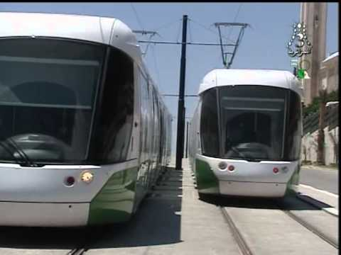 Tramway constantine  phase de test ( non commercial)