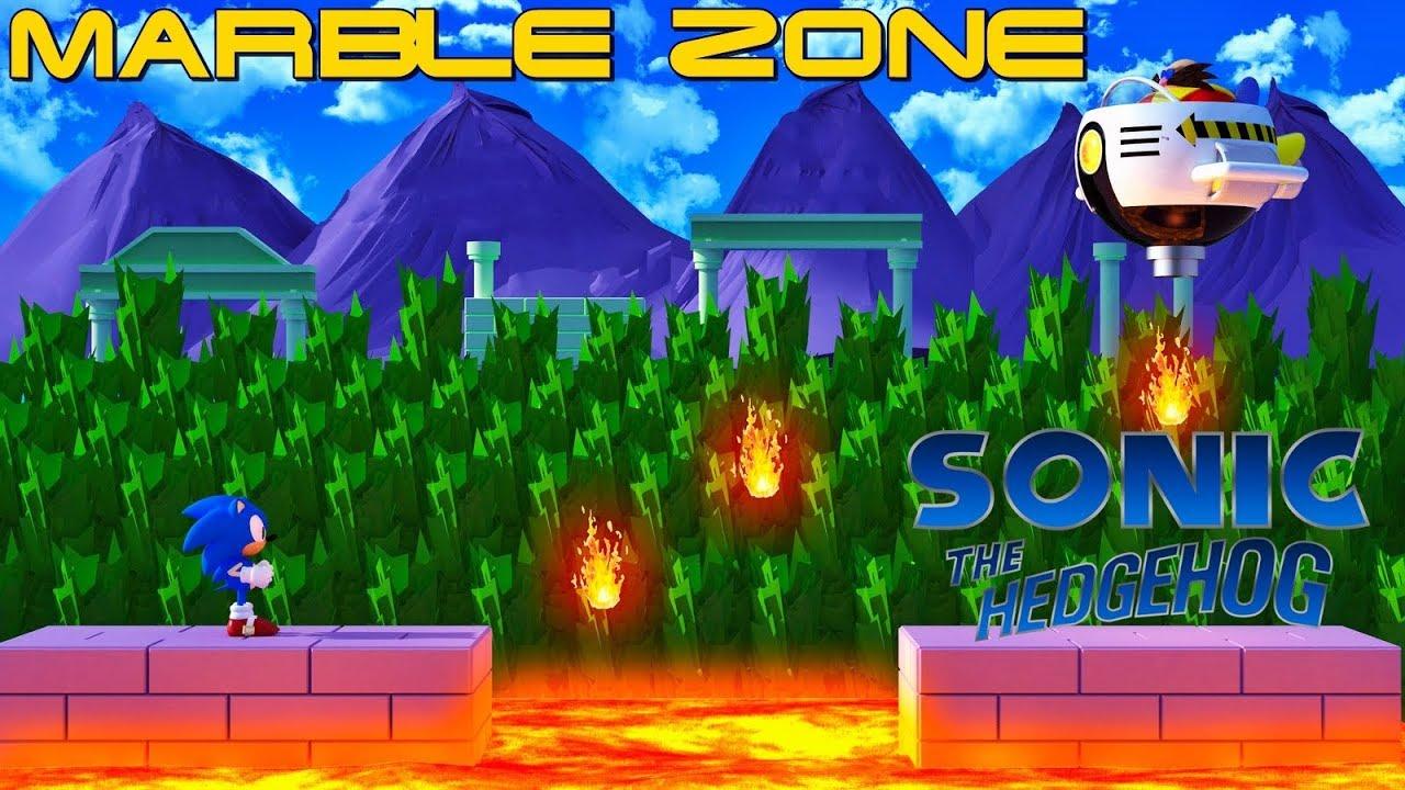 Sonic Marble Zone Remix Youtube