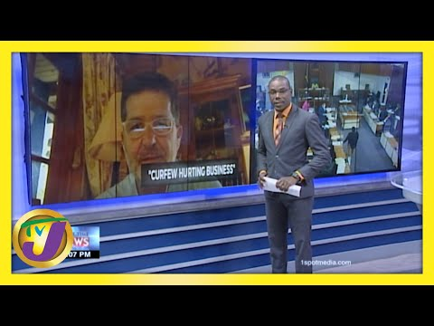 Is New Curfew Hurting Businesses in Jamaica? | TVJ News