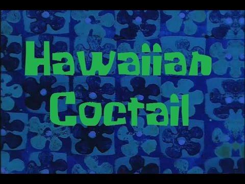 SpongeBob Production Music Hawaiian Cocktail
