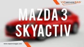 Mazda 3 Skyactiv-Установка ГБО ВИПсервисГАЗ Харьков (газ на Skyactiv)