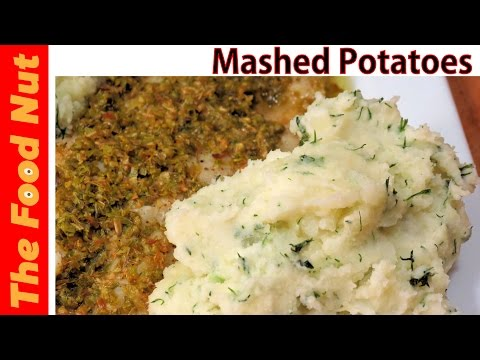 Homemade Mashed Potatoes Recipe From Scratch Made Easy With Sour Cream, Butter & Dill | The Food Nut
