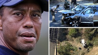 video: Tiger Woods car crash: Golfer awake and responsive as Police investigate incident