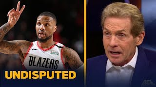 Trail Blazers are the most dangerous 8th seed to threaten LeBron's Lakers - Skip | NBA | UNDISPUTED