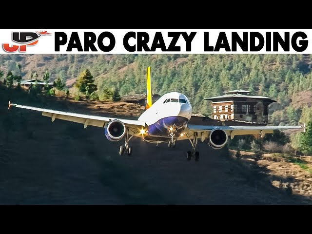 One of the Worlds Craziest Landings | COCKPIT VIEW