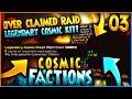 """LEGENDARY COSMIC CHEST + OP RAID!"" - Minecraft COSMICPVP FACTIONS Let's Play Ep.3 (Pleb Planet)"