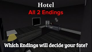 ROBLOX Hotel | All 2 Endings