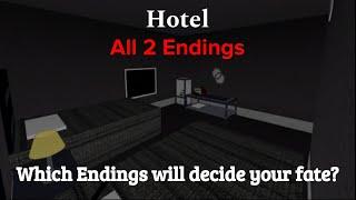 Hotel ROBLOX | Todos os 2 finais