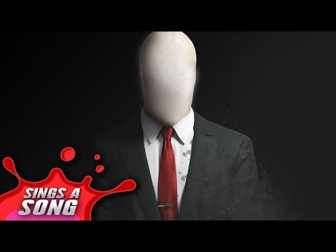 Slender Man Sings A Song (Scary Horror film Parody)