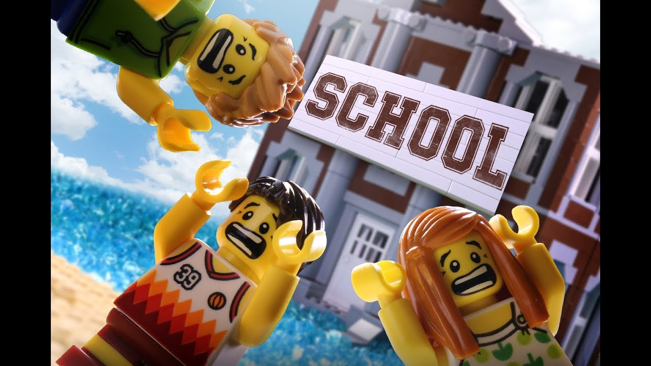 School Is Coming Lego Stop Motion Movie Youtube