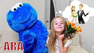 Ulya وقصص الأطفال عن حفل زفاف Cookie Man
