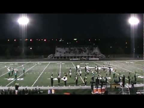 SkyHawk Marching Band Halftime Show 9/14/12