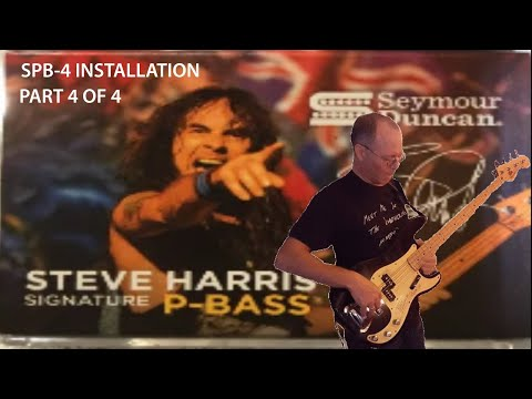 Seymour Duncan SPB-4 Steve Harris Pickup Swap (4 of 4)