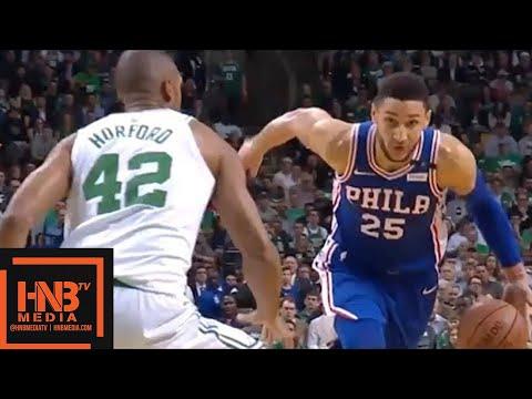 Boston Celtics vs Philadelphia Sixers 1st Half Highlights / Game 5 / 2018 NBA Playoffs