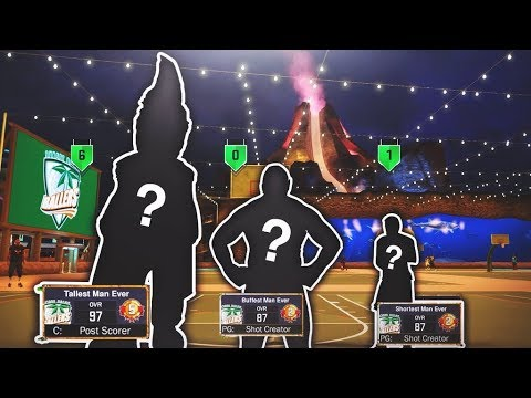 THE MOST HATED TRIO OF ALL TIME! 😱 SMALLEST, BIGGEST, & BUFFEST PLAYERS UNITE! NBA 2K17