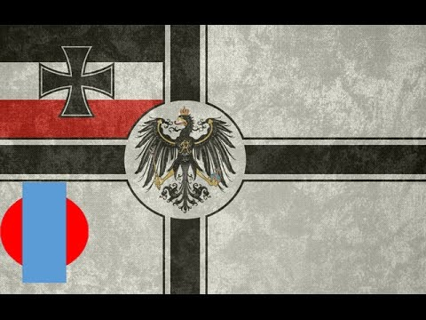 Flags of the Second Reich and the Weimar Republic