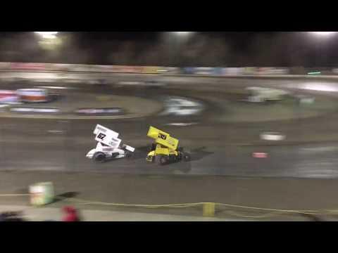 Grant Duinkerken 305 Sprint Car Main Event Bakersfield Speedway 9-15-18