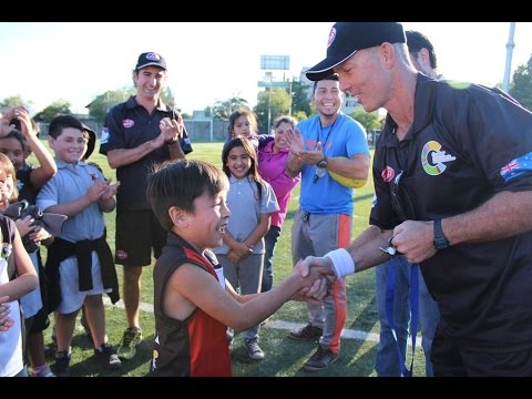 Aussie Rules Schools in Santiago, Chile!