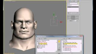 how to create a control rig in 3ds max