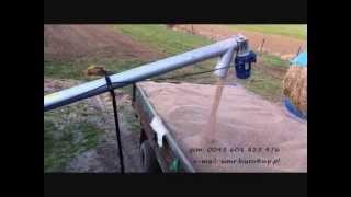 Przenośniki ślimakowe do zboża / przenośniki zbożowe - WMR Brzostków