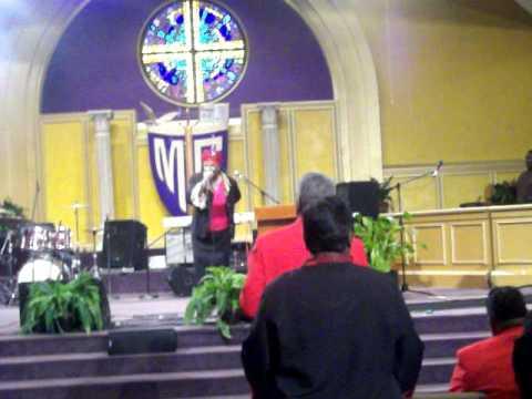 Rev. Dr. Ruth Singletary Singing At 2011 American ...