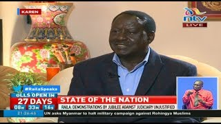 Raila Odinga speaks on his fight against electoral autocracy - FULL Interview