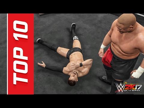 WWE 2K17 Samoa Joe Top 10 Moves!