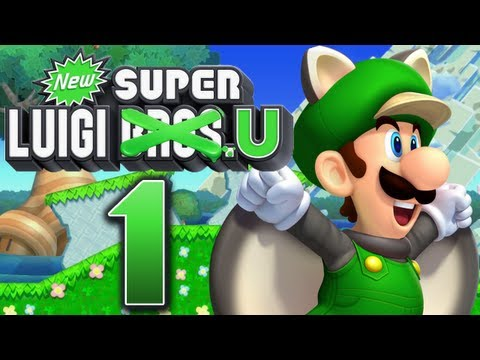 Let's Play New Super Luigi U Part 1: Die Luigi-Show beginnt!