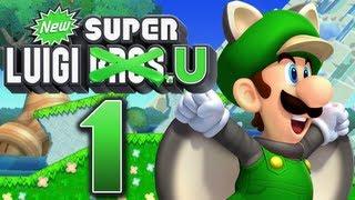 Let's Play New Super Luigi U Part 1: Die Luigi-Show beginnt!