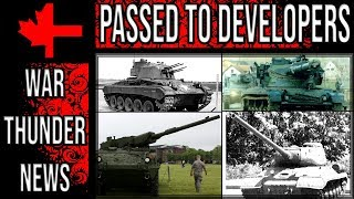 War Thunder - Passed to Developers - September 2018 - Ground Vehicles Part 1 thumbnail