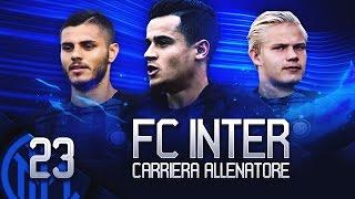 GIOVANI FENOMENI!! SE LA VERA INTER GIOCASSE COSI... | FIFA 17 CARRIERA ALLENATORE INTER EP.23