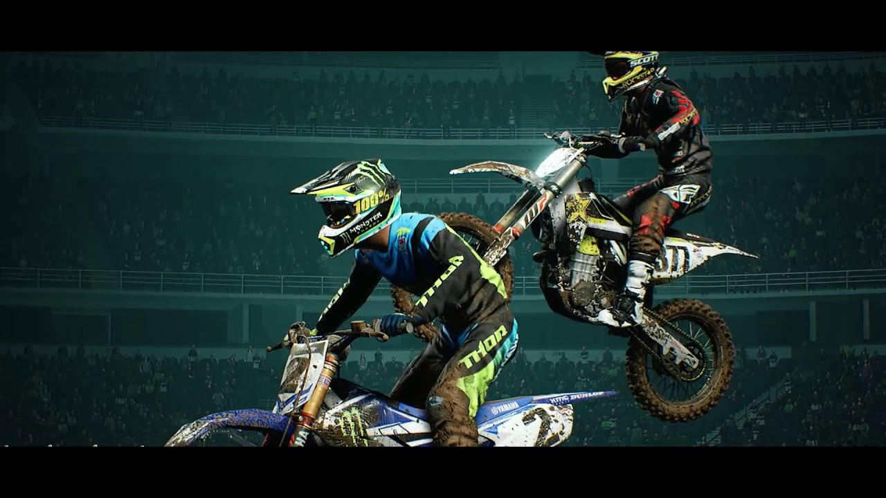 monster energy supercross launch trailer ps4 youtube. Black Bedroom Furniture Sets. Home Design Ideas