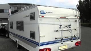 Caravan te koop: HOBBY DE LUXE EASY 560 KMFE  2003 MET VOORTENT (VERKOCHT)